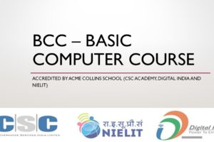 BCC – Basic Computer Course1
