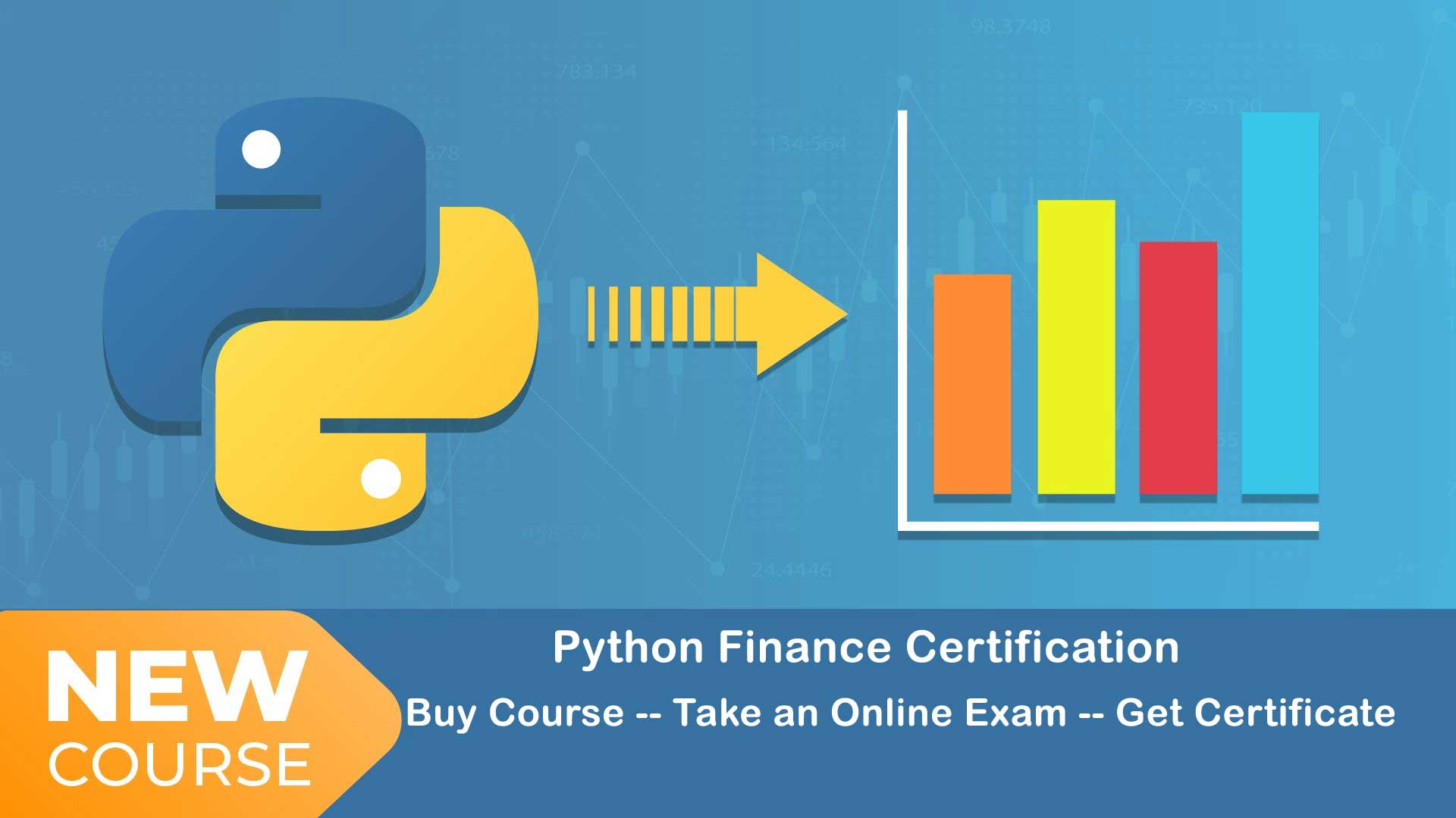 Python for finance certification