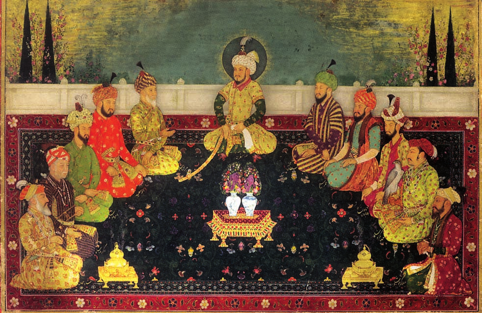 Miniature Painting of Mughals