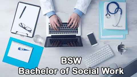 BSW - (Bachelor of Social Work)